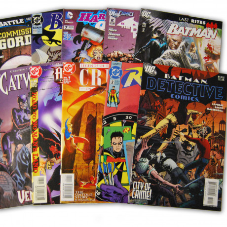 10 Batman Random Comic Collection