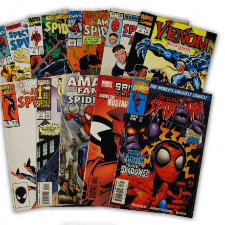 10 Spider-Man Random Comic Collection