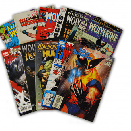 10 Wolverine Random Comic Collection