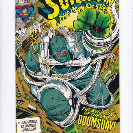 Superman The Man of Steel #18 1st Appearance of Doomsday VF/NM