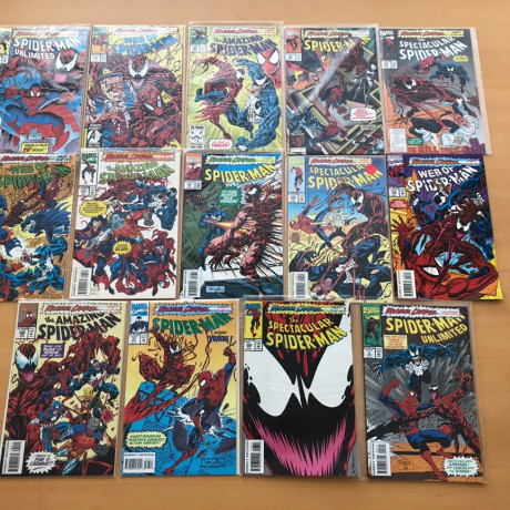 Maximum Carnage 1-14 Complete Set VF/NM