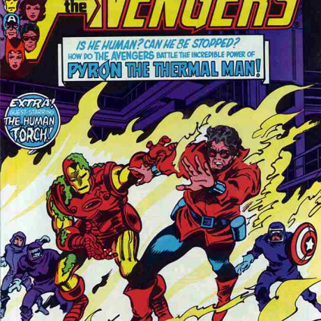 Avengers, The (1963) #206 1st appearance of Pyron the Thermal Man VF/NM