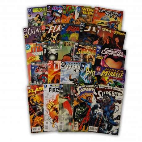 25 Random DC Superhero Comic Collection with Superman and JLA/JSA