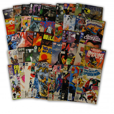 50 Random Indy Marvel and DC Collection