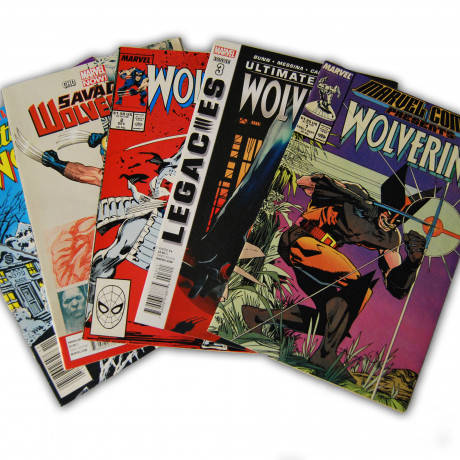 5 Wolverine Random Comic Collection