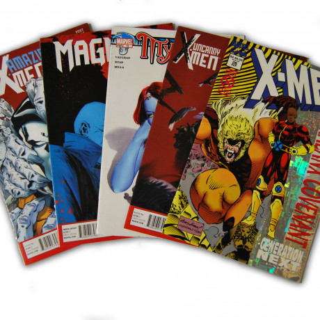 5 X-Men Random Comic Collection