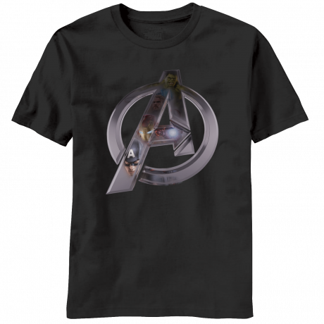Marvel Comics - Avengers Age of Ultron Chrome Logo T-Shirt