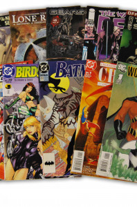 10 Random Indy and DC Comic Collection