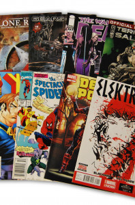 10 Random Indy and Marvel Comic Collection