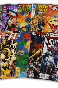 10 Random DC Superhero Comic Collection with Batman and Superman