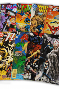 10 Random DC Superhero Comic Collection with Batman