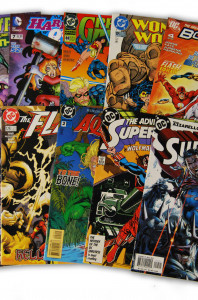 10 Random DC Superhero Comic Collection with Superman