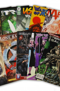 10 Random Indy Comic Collection