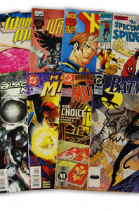 10 Random Marvel and DC Superhero Comic Collection