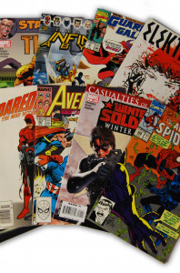 10 Random Marvel Superhero Comic Collection with Spider-Man and Wolverine