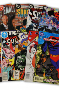 10 Superman Random Comic Collection