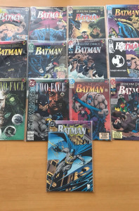 Batman Knightfall 1-19 Complete Set VF/NM