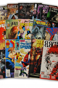 15 Random Indy and Marvel Comic Collection