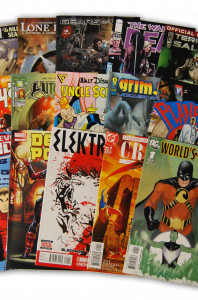 15 Random Indy Marvel and DC Comic Collection