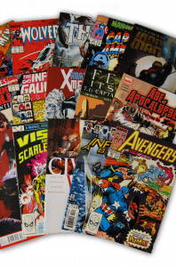 15 Random Marvel Movie Comic Collection