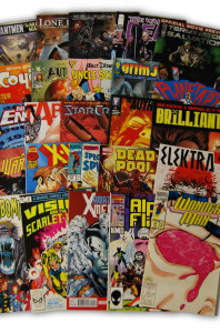 25 Random Marvel and Independent Comic Collection