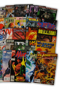 25 Random Indy Marvel and DC Comic Collection