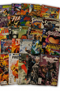 25 Random DC Superhero Comic Collection with Batman and Superman