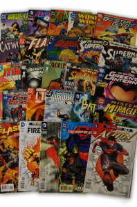 25 Random DC Superhero Comic Collection with Superman