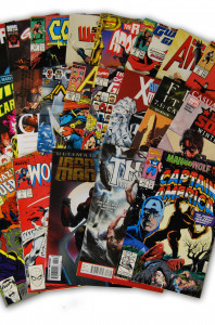 25 Random Marvel Movie Comic Collection