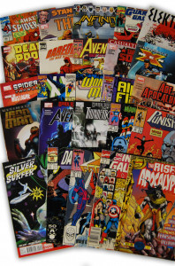 25 Random Marvel Superhero Comic Collection with Spider-Man and X-Men