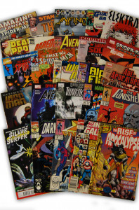 25 Random Marvel Superhero Collection with Spider-Man