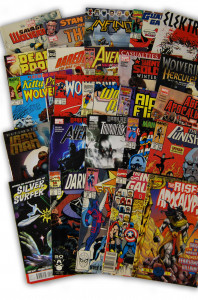 25 Random Marvel Superhero Collection with Wolverine