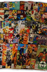 60 Random Marvel, DC Comic Collection