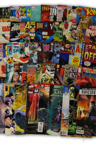 50 Indy and Marvel Comics Collection