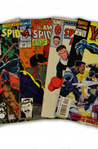 5 Spider-Man Random Comic Collection