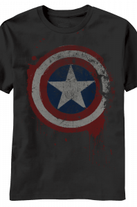 Captain America Freedom From Fear T-Shirt