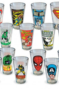 Superhero 2 Pack Mystery Pint Glass Bundle