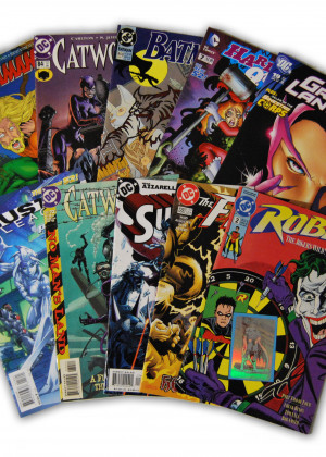 10 Random DC Movie Comic Collection