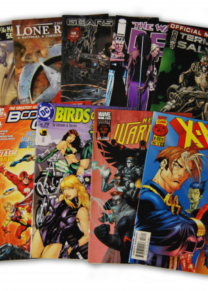10 Random Indy Marvel and DC Comic Collection