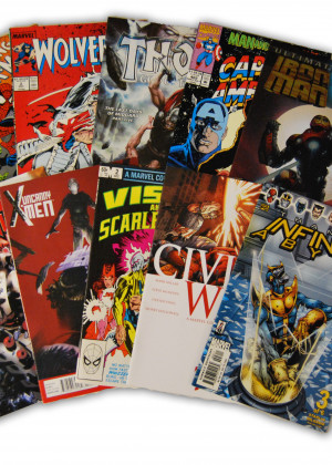 10 Random Marvel Movie Comic Collection
