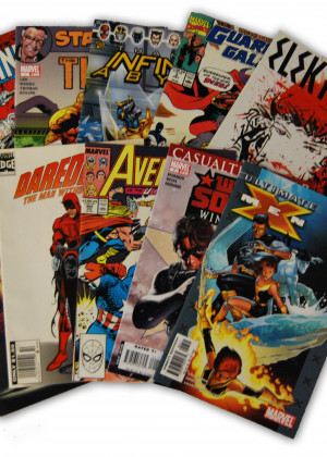 10 Random Marvel Superhero Comic Collection with X-Men and Wolverine