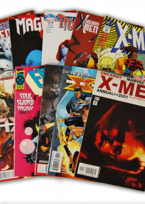 10 X-Men Random Comic Collection