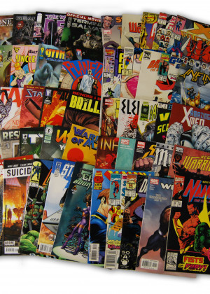 50 Random Indy and Marvel Comics Collection